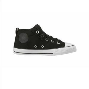 Converse Street Mid Black White Fashion Sneakers